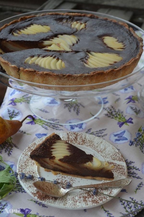 пирог грушами в духовке рецепт