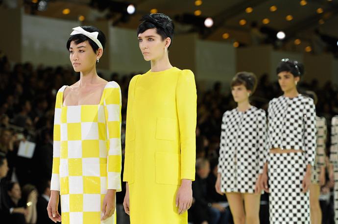 Неделя моды в Париже: шахматная доска от Louis Vuitton - фото №4