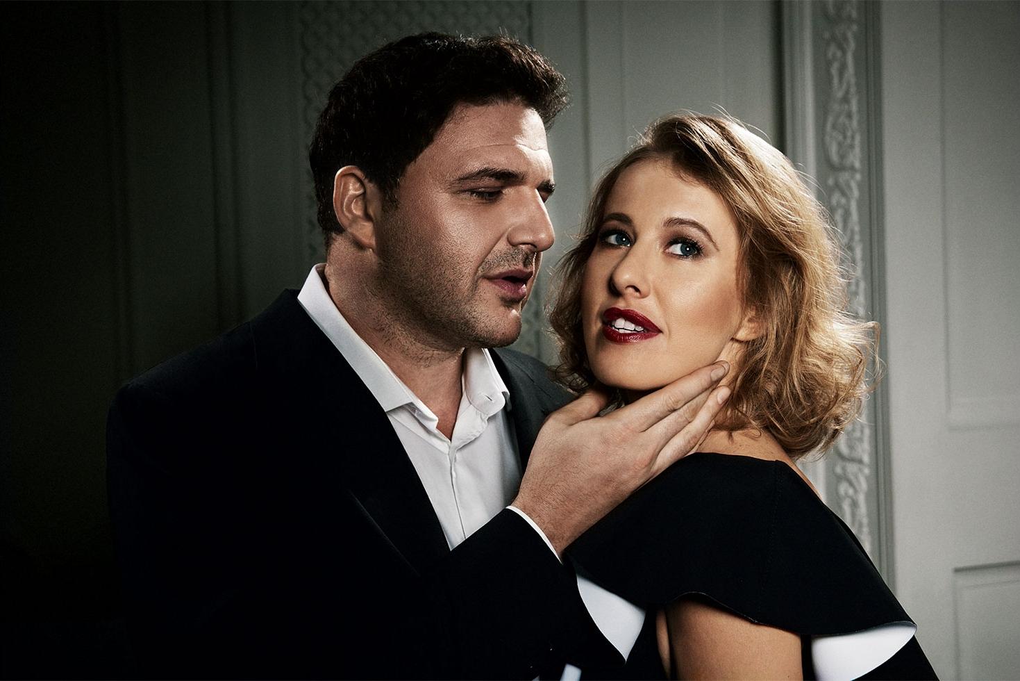 Ксения Собчак и Максим Виторган снялись в стильной фотосессии: история знакомства пары - фото №2