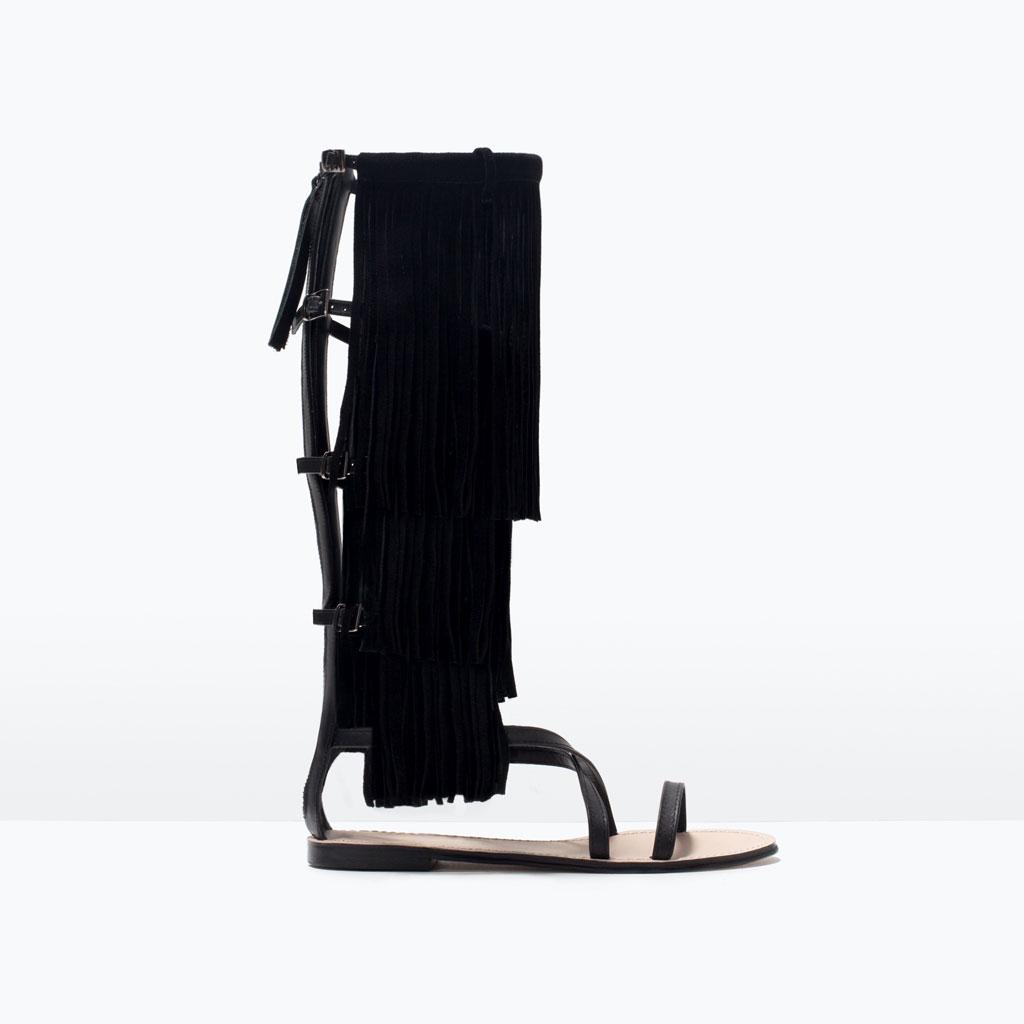 Сандалии гладиаторы - тренда лета 2015: где купить, какие выбрать, с чем носить