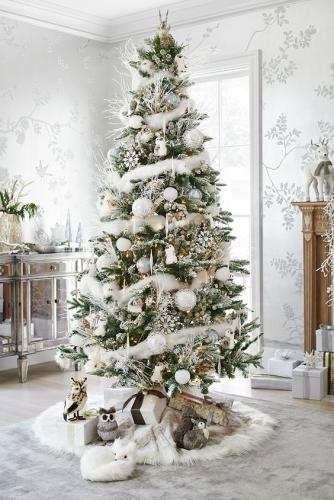 декор елки на новый год