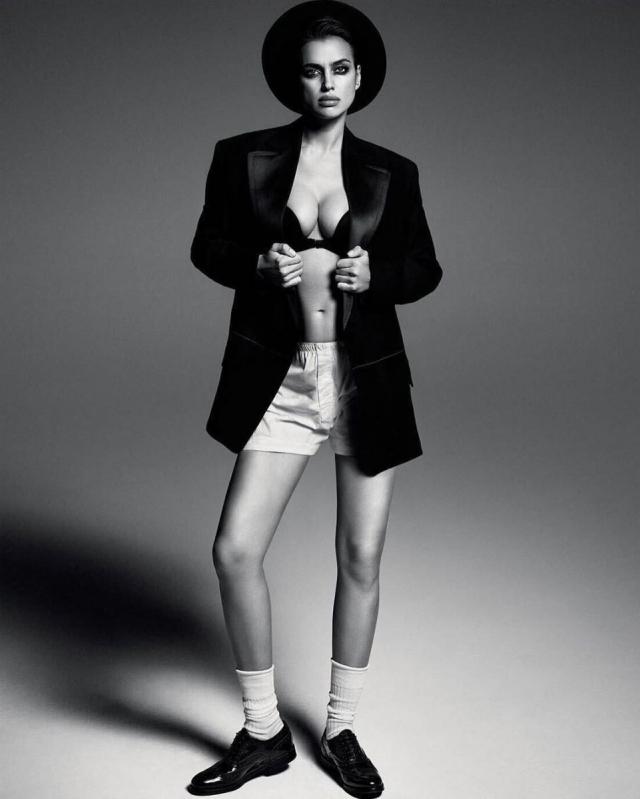 Беременная Ирина Шейк снялась без макияжа для Vogue (ФОТО) - фото №2