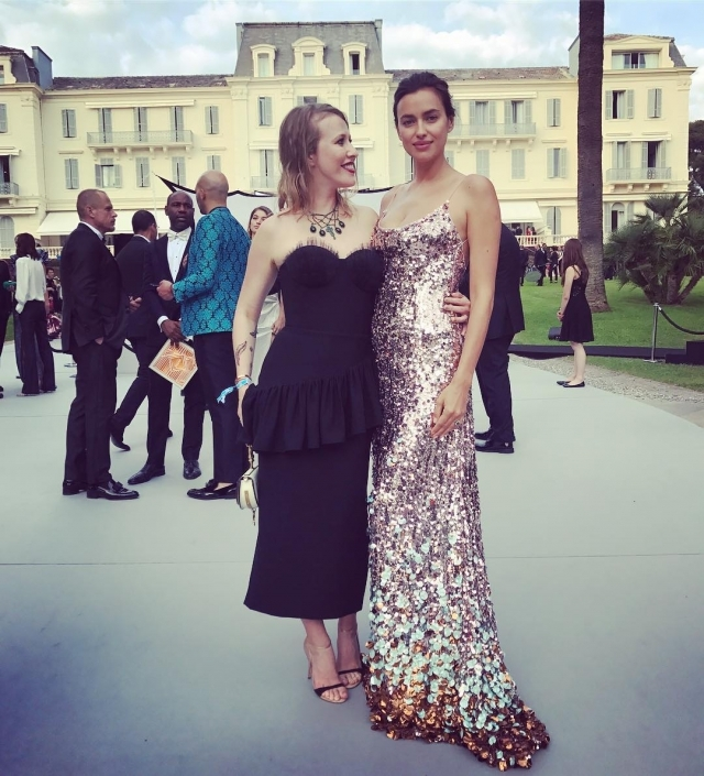 Ксения Собчак снова позавидовала красоте своей подруги Ирины Шейк (ФОТО) - фото №2