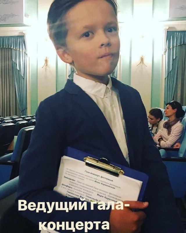 8-летний сын Потапа и Ирины Горовой стал телеведущим (ФОТО) - фото №1