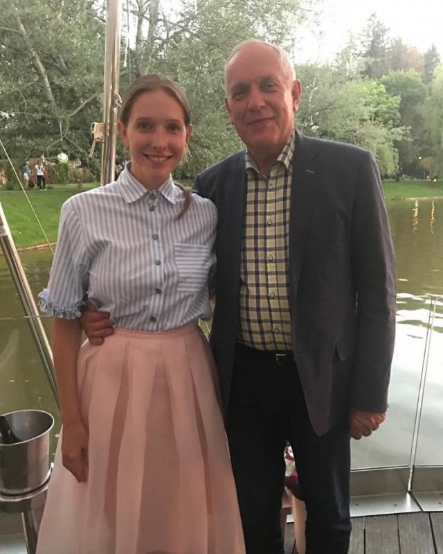 Катя Осадчая восхитила соцсети ФОТО со своим отцом-именинником - фото №1