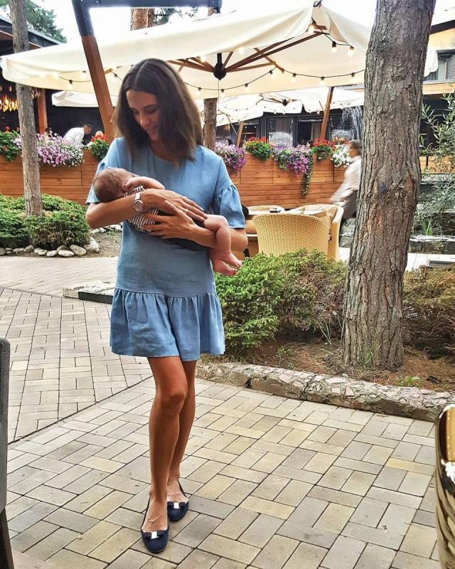 Жена Григория Решетника показала новорожденного сына и растрогала честным рассказом о беременности (ФОТО) - фото №1