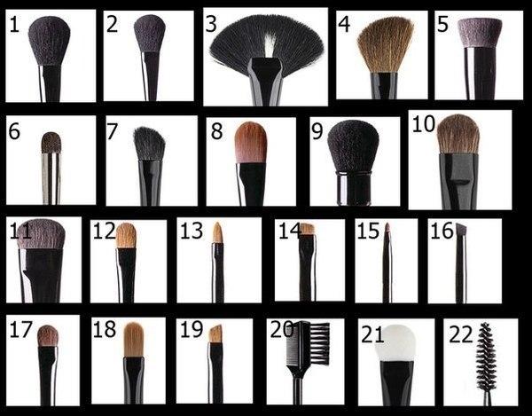 Чем различаются кисти для макияжа - фото №1