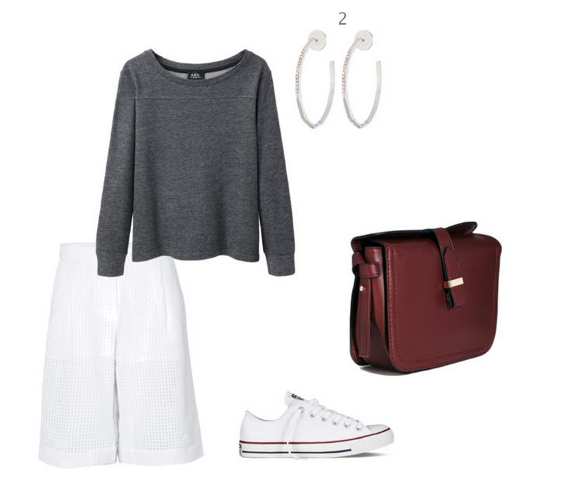 Тренд: модные брюки-кюлоты - фото №7