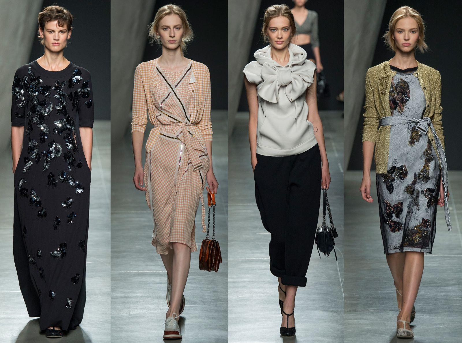 Неделя моды в Милане: Bottega Veneta, весна-лето 2015 - фото №1