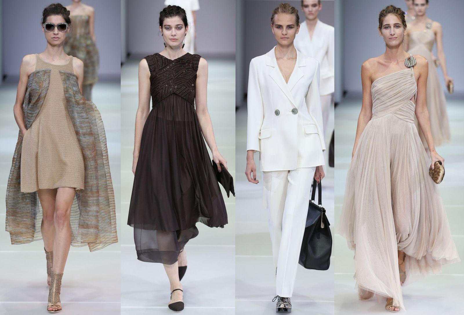Неделя моды в Милане: Giorgio Armani, весна-лето 2015 - фото №1