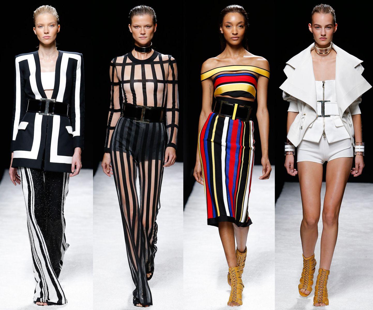 Неделя моды в Париже: Balmain, весна-лето 2015 - фото №1