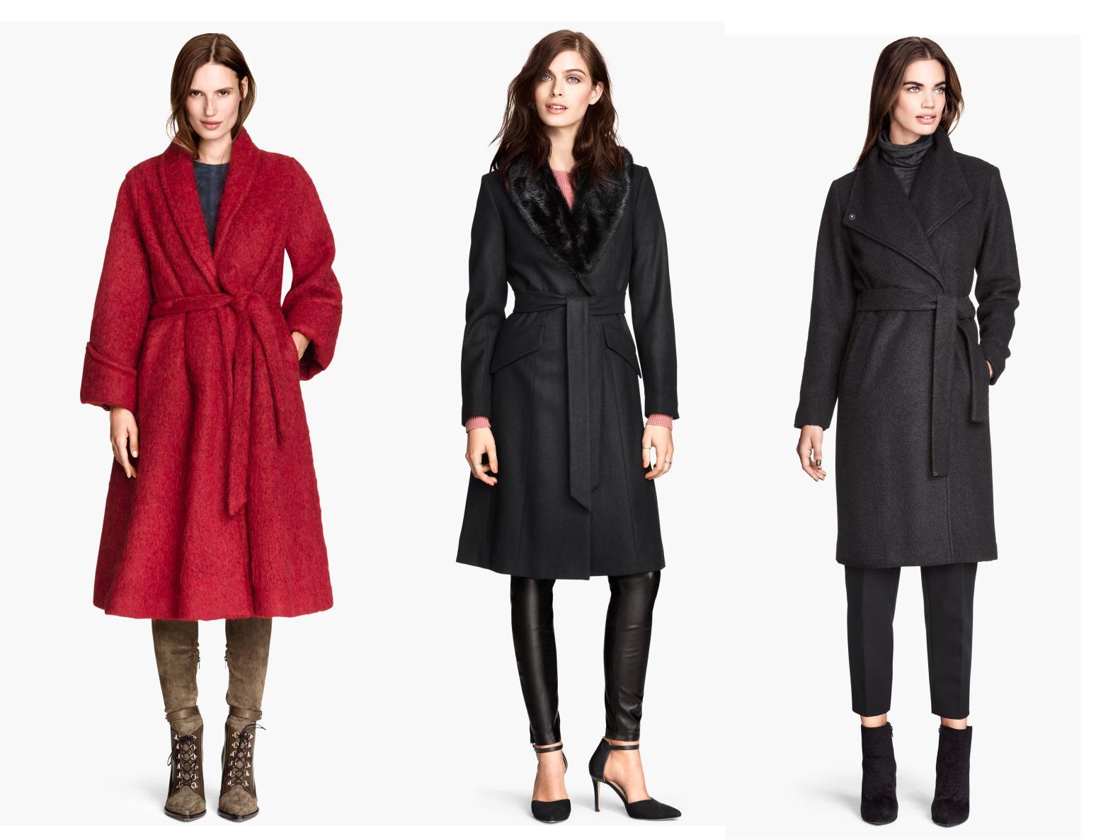 Как в халате: носим пальто на запах - фото №1