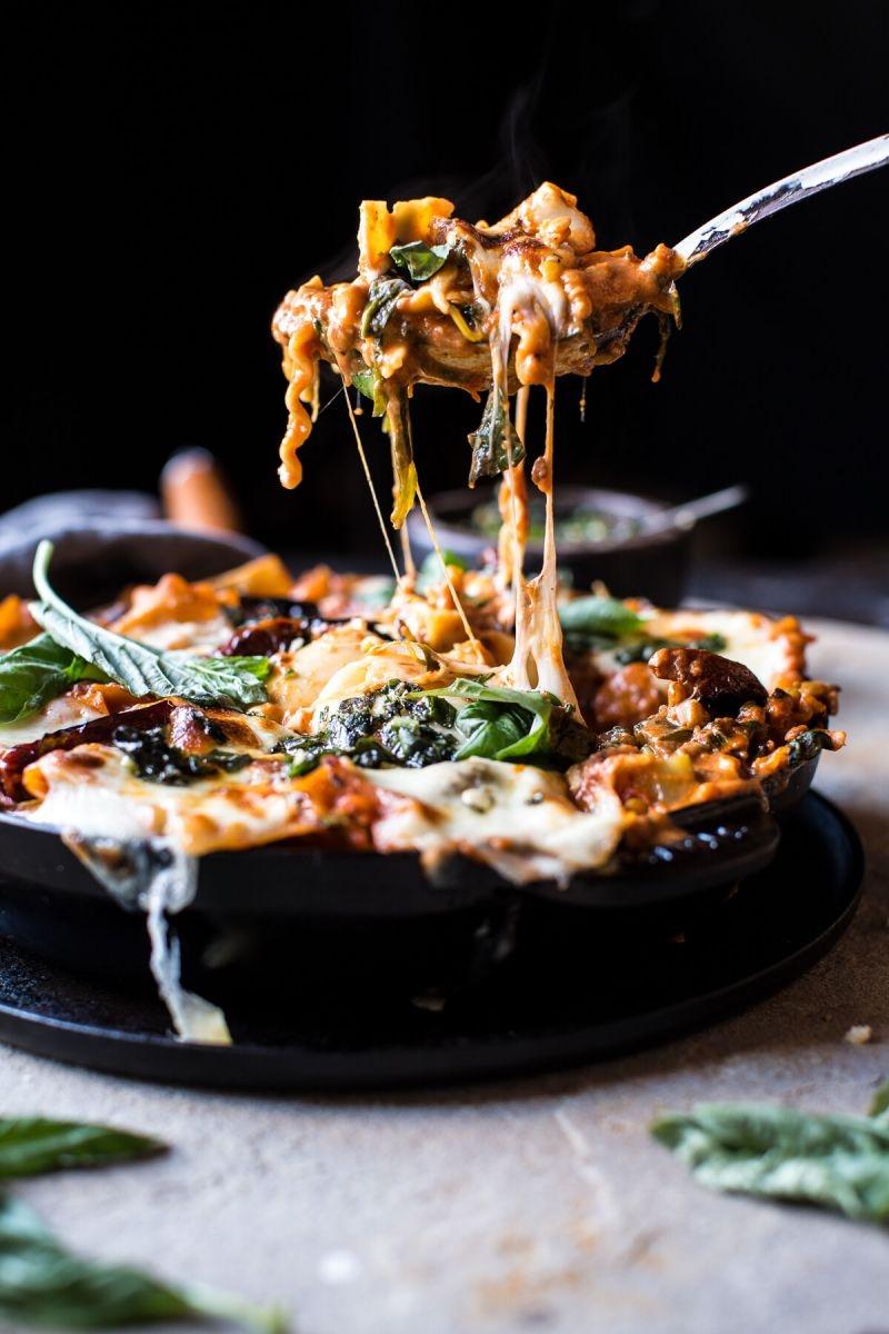 Спагетти с малиной, конфеты из сыра, классическая лазанья... А что ты приготовишь из крем-чиза? - фото №26