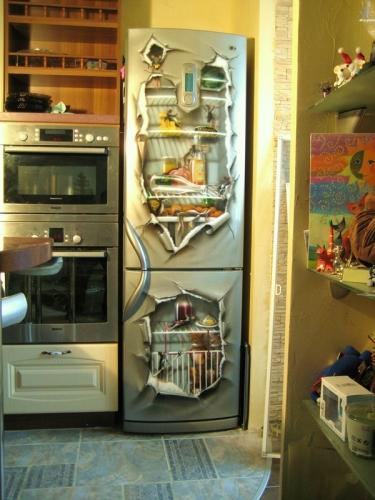 реставрация старых холодильников