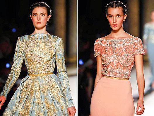 Неделя моды в Париже: показ Elie Saab - фото №1