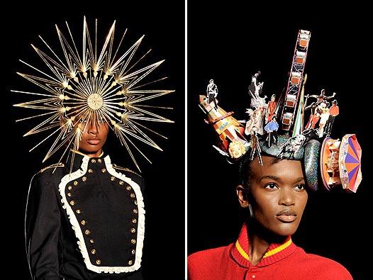 Неделя моды в Лондоне: Леди Гага на показе Philip Treacy - фото №8