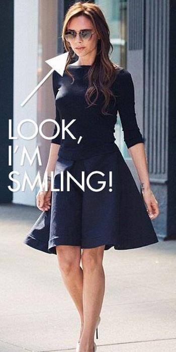 Виктория Бекхэм пошутила о своей улыбке - фото №1