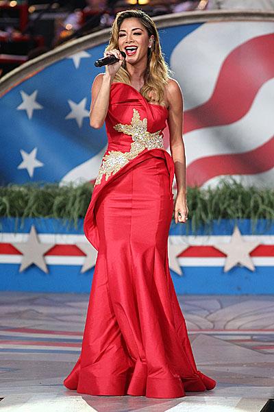 Как звезды отметили День независимости США - фото №2