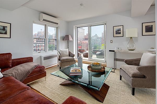 Звездный интерьер: Джулия Робертс продает свои роскошные апартаменты в Нью-Йорке - фото №3