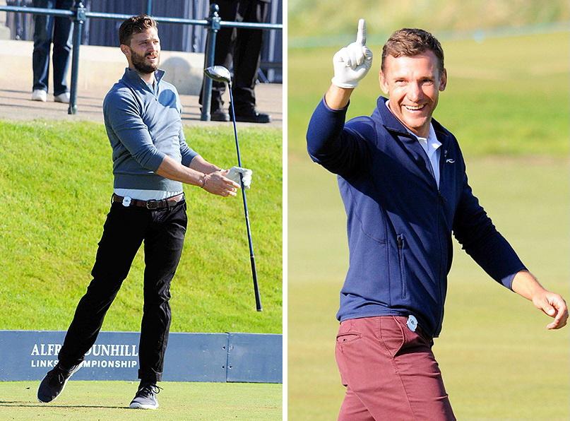 Дорнан и Шевченко сыграли в гольф