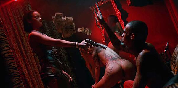 Рианна и ее любимый gangsta-стиль в новом клипе. ВИДЕО - фото №1