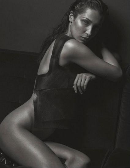 Один в один: Белла Хадид повторила откровенную фотосессию Кейт Мосс (ФОТО) - фото №2