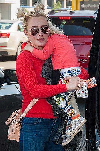 Хайден Панеттьери рассказала о курьезах во время перелета с двухлетней дочкой (ФОТО) - фото №2