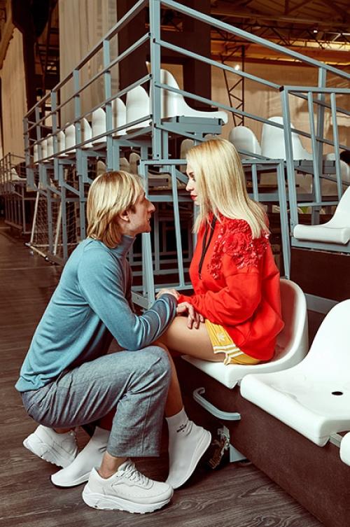 фотосессия рудковской и плющенко день валентина