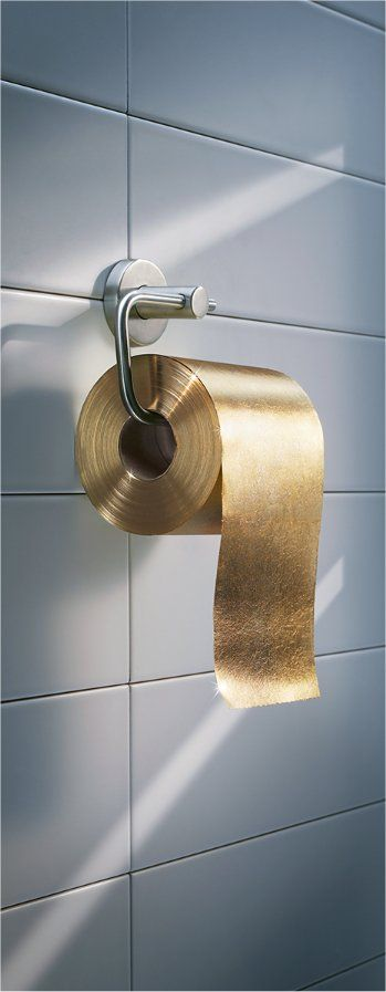 туалетная бумага золото