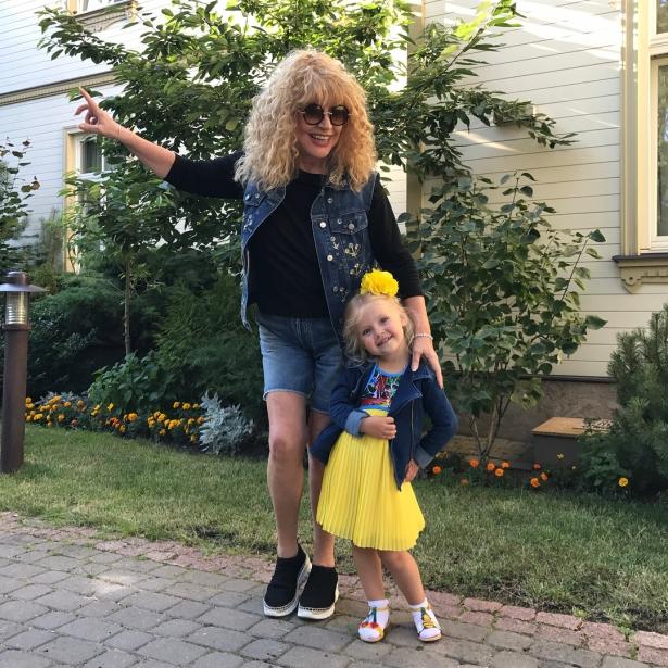пугачева с дочкой