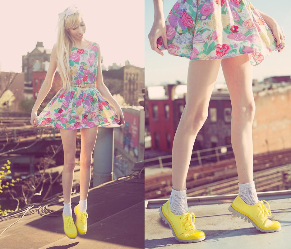 Модные платья в цветочек сезона весна-лето 2013 - фото №2
