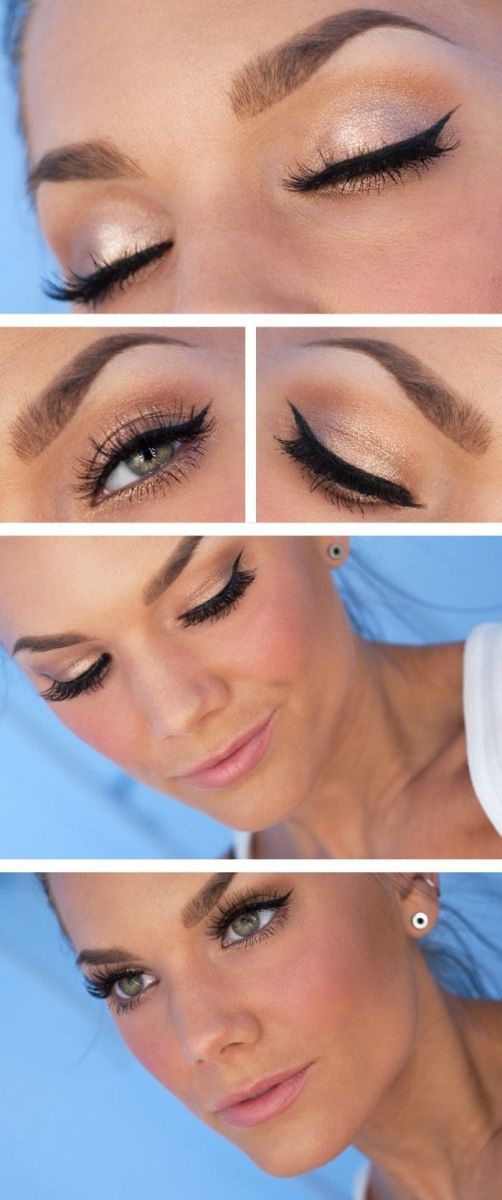 Как самостоятельно сделать макияж на свадьбу - фото №1