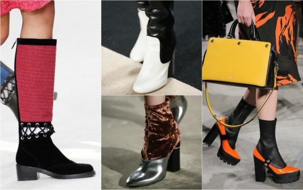 трендовая обувь 2016