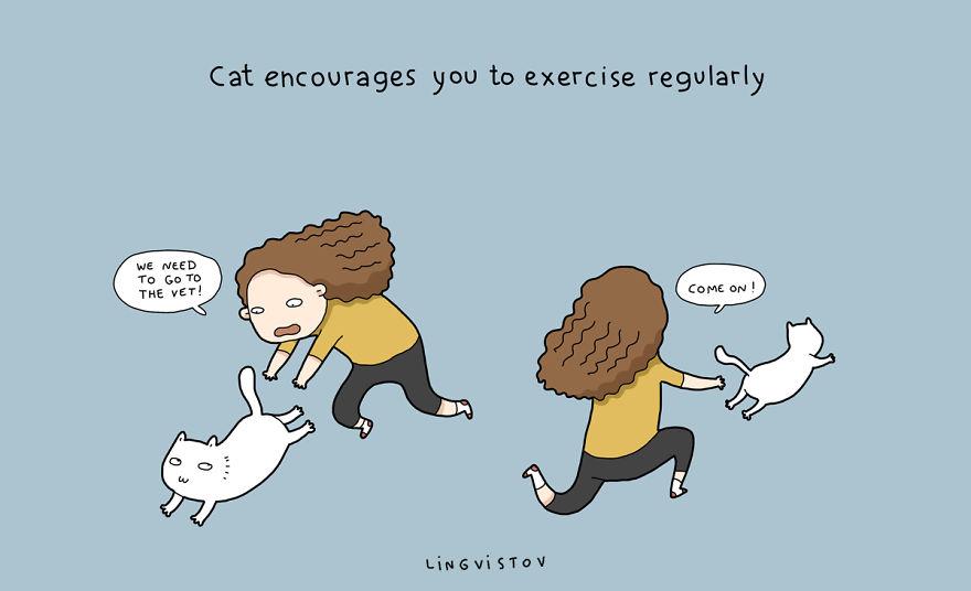 Когда у тебя кот: смешные комиксы о буднях кошатников - фото №7