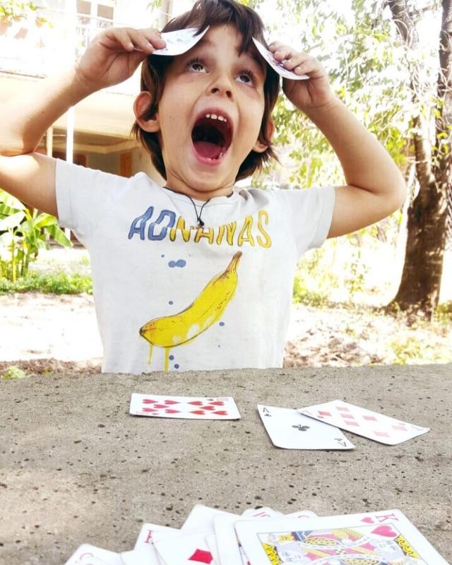 5-летний сын Анфисы Чеховой увлекся азартными играми (ФОТО) - фото №1