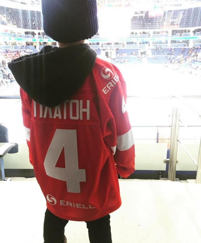 Дмитрий Шепелев пророчит 4-летнему сыну карьеру хоккеиста (ФОТО) - фото №1