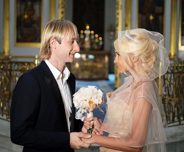 Венчание Яны Рудковской и Евгения Плющенко: как это было (ФОТО+ВИДЕО) - фото №1