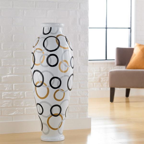 Тренд в интерьере: крупные вазы - фото №4