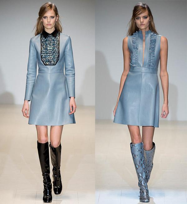 Объект желания: кожаное платье Gucci - фото №2