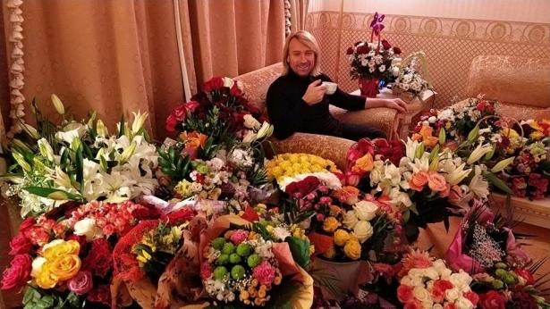 Олег Винник цветы