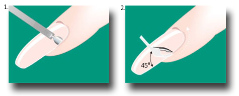 Как правильно делать обрезной маникюр - фото №3