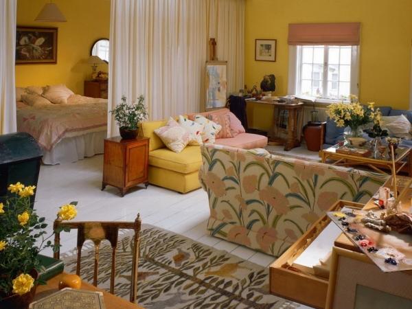 дизайн комнаты спальня гостиная фото