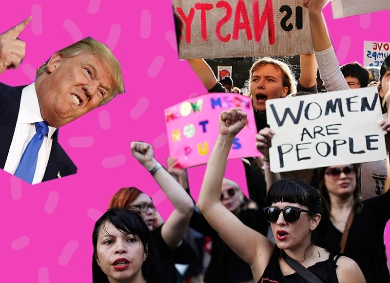 марш против Трампа
