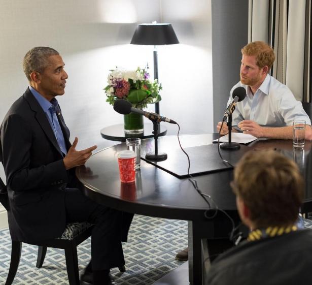 принц гарри взял интервью у обамы