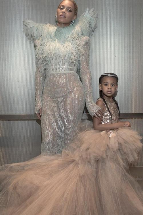 бейонсе с дочкой фото