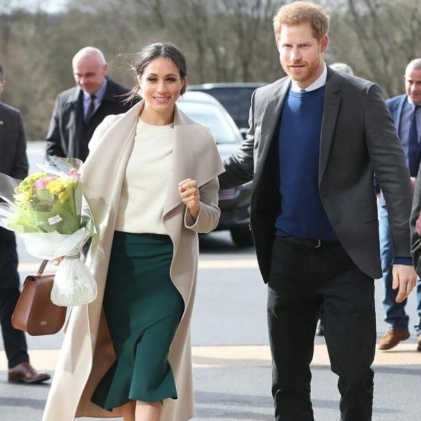 медовый месяц принца гарри и меган маркл в намибии