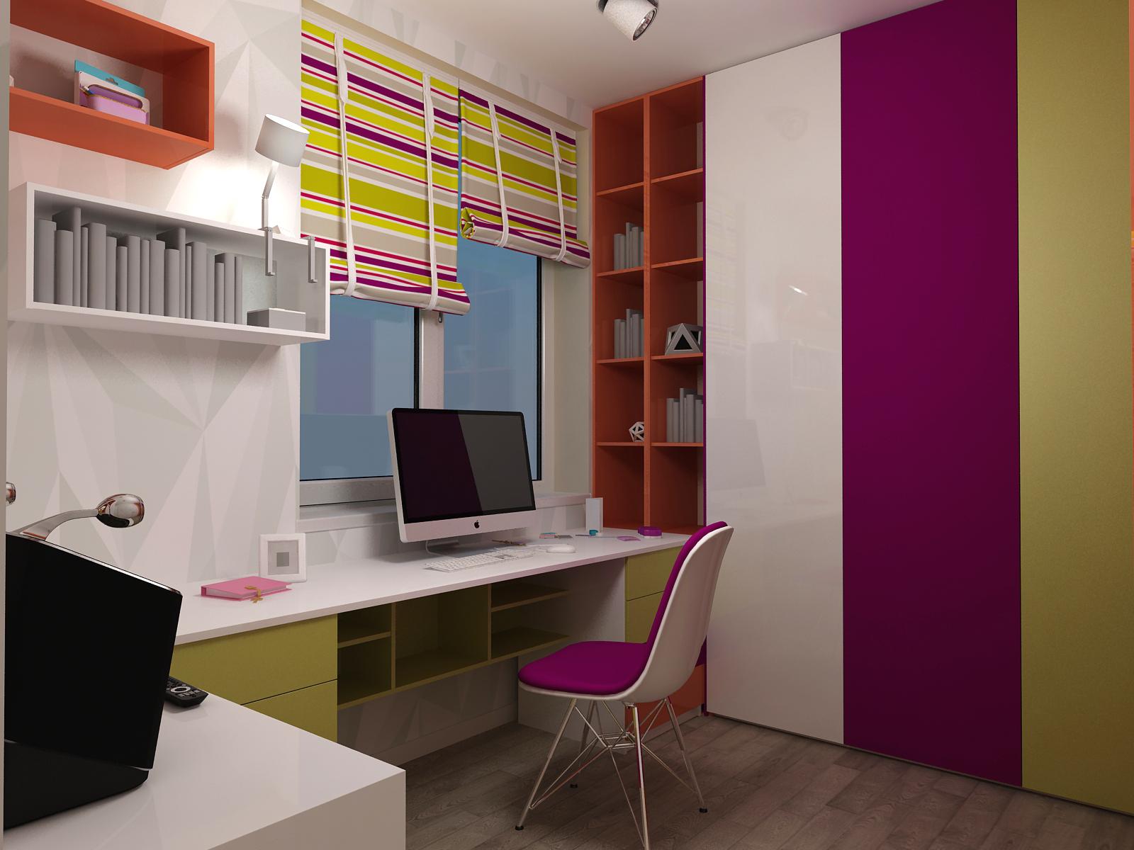 Как стильно оформить рабочее место дома - фото №2