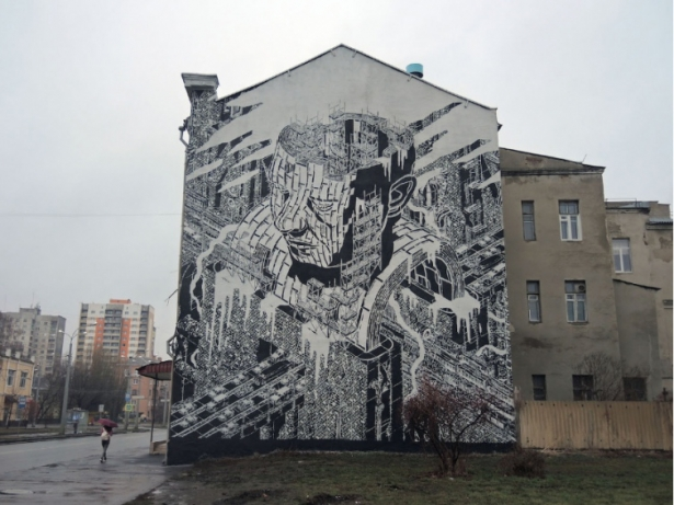 Харьковский мурал