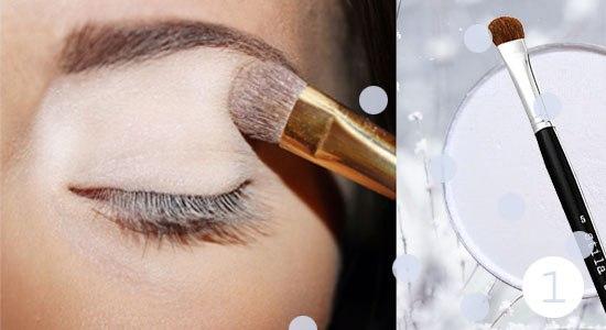 Как сделать снежный макияж глаз: пошаговый фото-урок - фото №2
