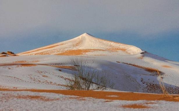снег в сахаре 2018